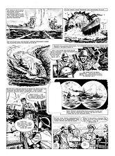 Lion Original Artwork: Paddy Payne inside large page. July 1960