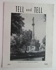 "Bell Systems Newsletter ""Tell & Tell""  July 1942"
