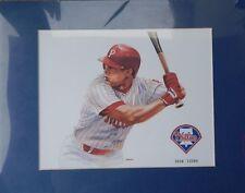 Lenny Dykstra Print By Tim Swartz Limited Edition Philadelphia Phillies Rare !!