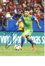 Vi�ctor Rodri�guez Signed Color 8X10 Photo Seattle Sounders Mls