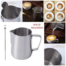 Milk Frothing Pitcher Cup Measurement Cups Latte Art Coffee Maker Accessories