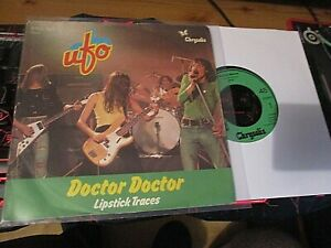 "7"" VINYL RECORD-IMPORT-UFO-DOCTOR DOCTOR/LIPSTICK TRACES-SUPERB EX"