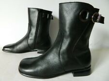 NOTHING ELSE jolies boots bottes bottines CUIR noir zip 38 TBE