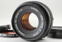 【Excellent+++++】Canon New FD 50mm F/2  Lens from Japan # 21-4