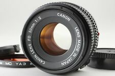 【Excellent+++++】Canon New FD 50mm F/2  Lens from Japan # 21-6