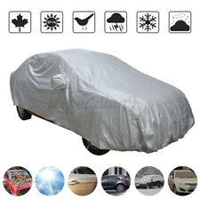 Universal Car Cover Waterproof Dirt Rain Snow Outdoor Protection UV Resistant