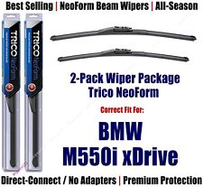 2-Pack Super-Premium NeoForm Wipers fit 2018+ BMW M550i xDrive - 162515/1915