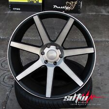 "24"" DUB Future S127 Black DDT Wheels Fits Chevy GMC Cadillac Q56 Ford F150 Yukon"