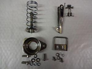 MG MIDGET AUSTIN HEALEY SPRITE BONNET SAFETY CATCH HOOK, CUP STAINLESS +BOLTS+