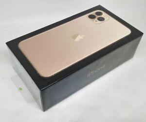 Boîte Vide Pour Apple IPHONE 11 Pro Doré 64GB avec Gratuit Chargement Câble