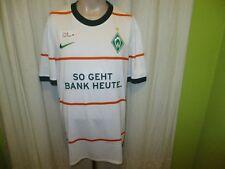 "Werder Bremen Original Auswärts Trikot 2009/10 ""SO GEHT BANK HEUTE"" Gr.XXL Neu"