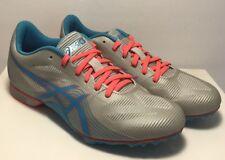 Asics Womens Size 9 Hyper Rocket Girl 7 Track & Field Shoes Grey Blue