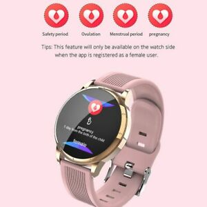 Women Ladies Touch Screen Smart Watch Bluetooth Pedometer for Samsung iPhone LG