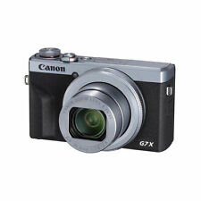 Canon PowerShot Digital Camera [G7 X Mark III] International Model - Silver