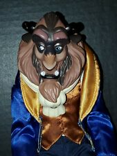 Vintage Disney Beauty and the Beast The Beast 12� Figure Doll 1991 Pre-owned