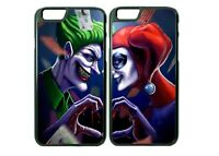 Superhero Villain Couple Animated Phone Case Cover For iPhone  iPod ( 2 cases)
