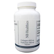 120 Kapseln Collagen 900mg TD Hyaluronsäure Kollagen Anti Falten Hyaluron NATURA