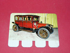 N°95 LEON BOLLEE 1912 PLAQUE METAL COOP 1964 AUTOMOBILE A TRAVERS AGES