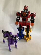 Power Rangers Jungle Fury Deluxe Jungle Pride Megazord With Wolf Zord