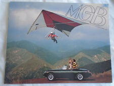 MGB Roadster brochure 1976 USA market