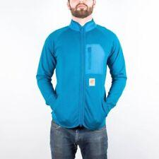 Men's UNDEFEATED Cliffhanger Zip Up Track Jacket Blue size M (T95) $100