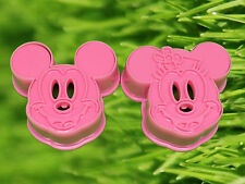 Mickey & Minnie Mouse Cookie Cutter Biscuit Embossed Cake Decoration Mold