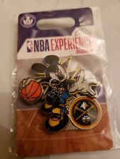 Denver nuggets pin Disney Parks Authentic Nba Experience Mickey Mouse
