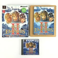 Age of Empires 2 II The Age of Kings Jeu Sur PC Big Box / Boite carton