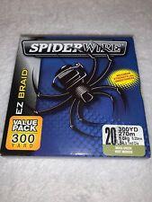 Spiderwire 1140573 Moss Green Ez Braid Superline 300 Yd 20 Lb Fishing Line