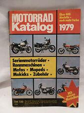 Katalog Motorräder Mofas Zweirad Oldtimer Youngtimer 1979 vintage catalogue