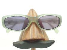 Vintage Emporio Armani 603-S 166-S Small Gray Oval Sunglasses Frames Italy