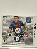 Fifa Soccer 13  3DS Replacement Case Only