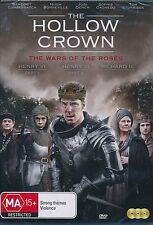 The Hollow Crown The Wars Of The Roses DVD NEW Judi Dench Benedict Cumberbatch
