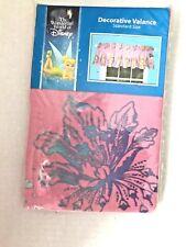 Disney Tinkerbell Window Valance Pink 84 x 15 NOS