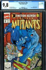 New Mutants #96 CGC GRADED 9.8 - HIGHEST GRADED - X-Men appearance