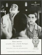 PATEK PHILIPPE Annual Calendar - 2001 Vintage Print Ad