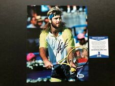 Andre Agassi Rare! signed autographed tennis 8x10 photo Beckett BAS coa
