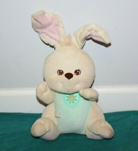 Fisher Price Peaceful Planet Soothing Sounds Bunny Plush Lights & Sounds Works
