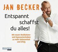 JAN BECKER - ENTSPANNT SCHAFFST DU ALLES!  2 CD NEW