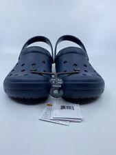New Crocs Coast Clogs, Men's Size 6, Women's Size 8 ☆ Navy Blue ☆ Free Shipping