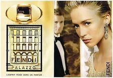 Publicité Advertising 2008 (2 pages) Parfum Fendi Palazzo