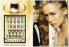 Publicité Advertising 2008 (2 pages) Parfum Fendi Palazzo