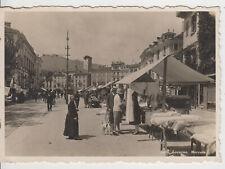 Locarno Schweiz Mercato Mark Marktszene um 1920 - AK Ansichtskarte Postkarte