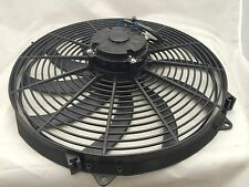 "CHEVY FORD HOT ROD ELECTRIC 16"" CURVED BLADE FAN 280 WATT 12v"