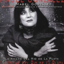 FREE US SHIP. on ANY 2 CDs! ~Used,VeryGood CD Gonzalez, Mabel: La Noche Del Rio