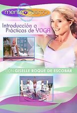! Mirar ! Mente y Cuerpo - Introduction A Practicas de Yoga (DVD, 2007)