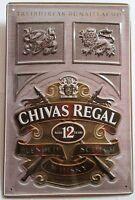 CHIVAS REGAL, Scotch Whisky, BLECHSCHILD