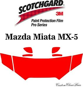 3M Scotchgard Paint Protection Pro Series 2016 2017 2018 2019 Mazda Miata MX-5