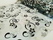 Tischdecke Folie PVC Tischfolie 80 cm Breite mit Muster  1,6 mm, Meterware