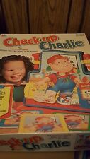 Vintage Check up Charlie Game Milton Bradley 1995 Complete Doctor Electronic